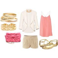 """""""Pretty in Pink"""" by karrina-renee-krueger on Polyvore"""