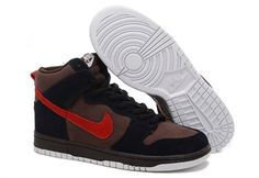 Nike Dunk Sb High For Men Chocolate Black Nike Dunks #fashion #sneakers