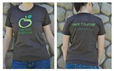 Heal Yourself! New organic Gerson Therapy tee shirts!