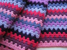 Granny Stripes - Free pattern