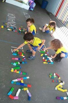 Sight Words for Kindergarten Name Activities Preschool, Preschool Literacy, Letter Activities, Toddler Learning Activities, Infant Activities, Preschool Activities, Kids Learning, Childhood Education, Kids Education
