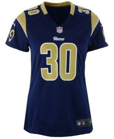 nike womens todd gurley los angeles rams game jersey blue s