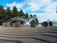 Waterfront Park Fountain in Charleston, SC