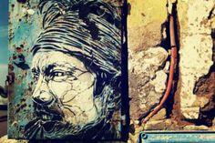 #JimiHendrix #streetart in #Essaouira #smARTraveller http://besmartraveller.wordpress.com/2014/04/09/la-storia-antica-di-essaouira