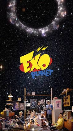 Power power ❤❤❤ Chanyeol Baekhyun, Exo Kai, Kdrama, 5 Years With Exo, Kpop Backgrounds, Planets Wallpaper, Fanart, Exo Fan Art, Exo Lockscreen
