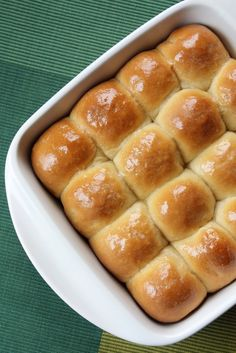 Even if you don't need a dinner roll recipe, the way this woman writes about the rolls if worth the read.