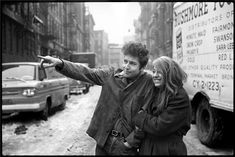 Bob Dylan and Suze Rotolo, New York