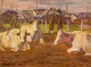 Sakamoto Hanjirō, Dairy Farm about March, 1915