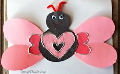 Bug w/heart wings