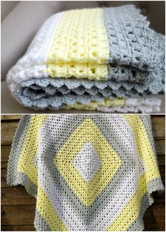You cannot (or better you should not) use anything to cover your baby while s/he is sleeping before one year old, because of the security reasons. Product safety experts advise against using blanke… Crochet Afghans, Crocheted Blankets, Afghan Crochet Patterns, Easy Crochet, Simple Crochet Patterns, Crochet Owls, Baby Afghans, Crochet Animals, Free Baby Blanket Patterns