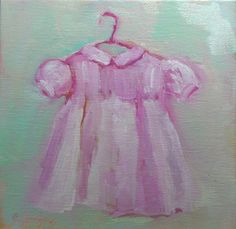 Maddie's  and Hannah's baby dress