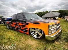 Chevy Bagged Trucks, Lowered Trucks, Hot Rod Trucks, Gm Trucks, Pickup Trucks, New Chevy Truck, Custom Chevy Trucks, Dropped Trucks, Chevy Girl