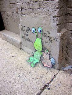 Occupy imagination - David Zinn
