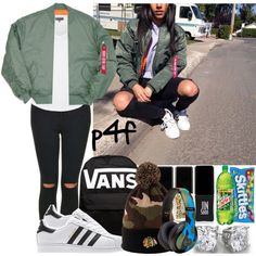 Passion 4Fashion: Chi-Town by shygurl1 on Polyvore featuring polyvore fashion style Zalando Topshop Vans Seconda Base American Needle Jin Soon