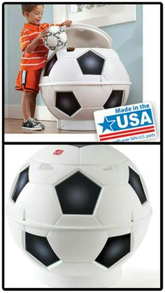 Soccer Ball Toy chest. Walmart.com