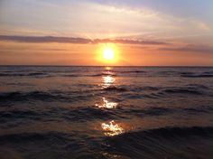 Sunset at Sengigi Beach, Lombok, Indonesia