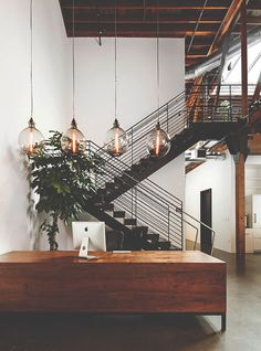 "urbnindustrial: ""Loft Office in Portland """