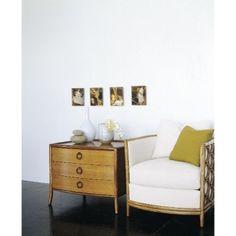 McGuire Furniture: Laura Kirar Barrel Lounge Chair: A-80g