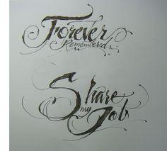 Calligraphy Types VI