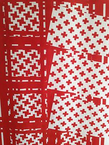 60s 70s Vintage Heals Fabric Sequence - Barbara Brown