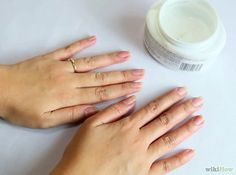 How to Have Super Soft Hands (Overnight Method). Not only are dry, flaky hands uncomfortable, they don't look good and aren't comfortable for holding or shaking. Beat your dead skin with the no-fail overnight moisturizing method, using an. How To Soften Hands, Softer Hands, Rough Hands, Dry Hands Remedy, Cream For Dry Skin, Hand Care, Organic Skin Care, Skin Care Tips, Beauty Tips