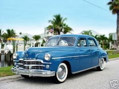 1949 Dodge Meadowbrook - My parents' first car.  Purchased when I was 10 years old.  It was gray...