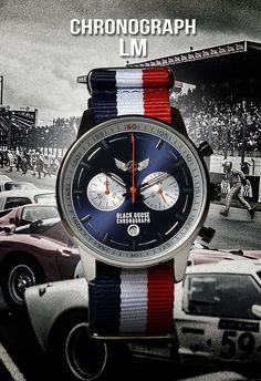Black Goose créateur de Montres pour hommes d'inspiration automobile vintage faites par et pour les Gentlemen Drivers.