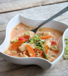 Sunn matglede Food N, Food And Drink, Snacks, Fish And Seafood, Fish Recipes, Thai Red Curry, Cravings, Nom Nom, Fresh