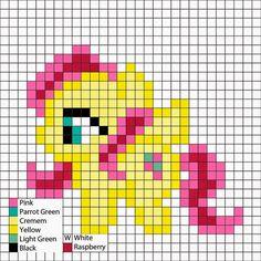 Perler Mania: My Little Ponies, Friendship is Magic: Fluttershy