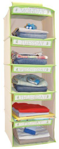 School Clothes Organizer. So simple, I must do this. Not a bad idea for my work clothes either!! I spend too much time trying to figure out what to wear.