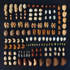 DEEZ NUTS (and seeds, and legumes) emily blincoe (print) october 2013 Conceptual Photography, Food Photography, Things Organized Neatly, Recipe Organization, Mixed Nuts, Food Design, Perfect Food, Fine Dining, Food Art