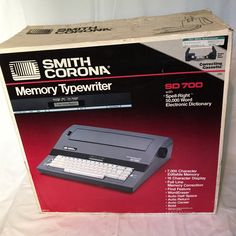 This is the same style electric typewriter I learned to type with.  Hardly ever used, includes extra cartridge & ribbon and works as if it were new. If vintage office electronics are your thing now's the time to SAVE 10% w/ coupon GOTTAHAVEIT. Don't wait!