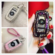 A P Luxury Diamond Bling Car Key Case Cover Key Shell For Bmw 1