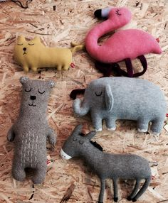 The Gang is back don't Mess with them  Dear @saracarr76 I Love them trully Madly deeply #milchundhonigkinderladen #milchundhonigshop #milchundhonig #onlineshop #bestgangever #saracarr #thingsyouhavetohave #sobeautiful #tiere #handmade #hangemachte #lammbswool