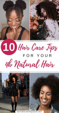 10 Hair Care Tips for Your Natural Hair 4b Natural Hair, Natural Hair Care Tips, Natural Hair Regimen, Natural Hair Styles, Natural Haircare, Natural Beauty, Grey Hair Care, Natural Hair Moisturizer, Natural Hair Inspiration