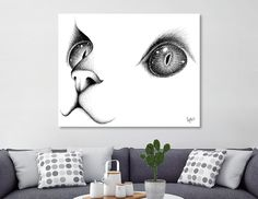 Discover «A Cat's Portrait», Numbered Edition Acrylic Glass Print by Fotios Pavlopoulos - From $85 - Curioos Framed Art Prints, Canvas Prints, Portrait Acrylic, Thing 1, Welcome Gifts, Clear Acrylic, Buy Art, Things To Come, Tapestry