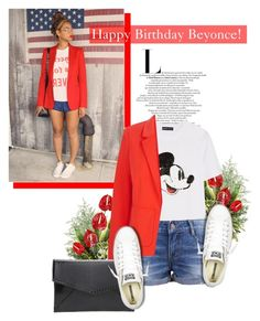 Happy Birthday, Beyonce! by antemore-765 on Polyvore featuring polyvore fashion style Markus Lupfer Oasis Converse clothing