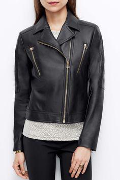Faux Leather Jacket Vegan Fashion Style