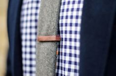 Oncle Pape - Pince-cravate en vois
