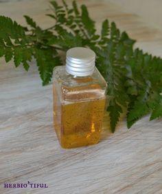 Huile de massage drainante et circulatoire aux huiles essentielles