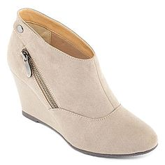 jcp | CL by Laundry Vickee Womens Wedge Booties