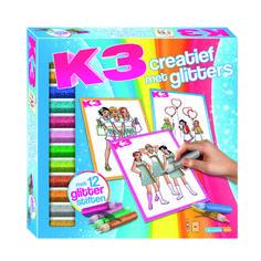 K3 Creatief met glitters