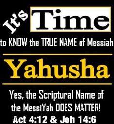 Yahuah – Besorah (Good News) of Yahusha Ha'Mashiach, The Gift of Eternal Life Avatar, Black Hebrew Israelites, Bible Study Notebook, Bible Knowledge, Bible Truth, Torah, Let God, Faith Quotes, Bible Verses