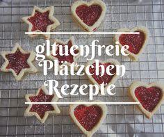 glutenfreie Weihnachtsplätzchen Rezepte!