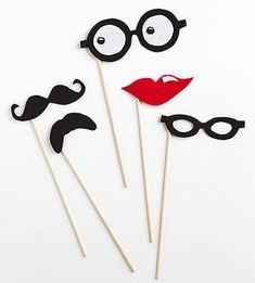 Pun and Games These do-it-yourself mustache masks and prankish props make it fun to fool around and play pretend. Projects For Kids, Craft Projects, Purple Ladybugs, Pranks For Kids, Prop Making, April Fools Day, Diy Mask, Art Classroom, Activities For Kids