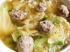 巻かないロールキャベツ!肉団子スープ鍋の画像