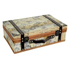 I pinned this Cartography Storage Trunk from the Out of Africa event at Joss and Main!