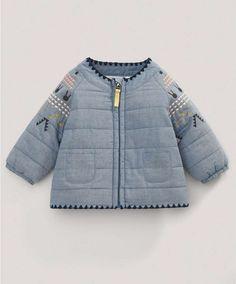 Fifi Lapin Quilted Jacket - NEW Arrivals - Mamas   Papas Móda Pre Najmenšie  Dievčatká b6a18ac41e1