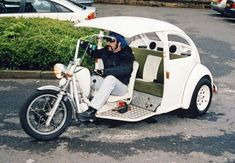 VW Beetle Trike White by Steve Greaves #jorgenca