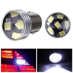 White 1156 6-2835-SMD Car LED Projector Bulbs Backup Reverse Light  Worldwide delivery. Original best quality product for 70% of it's real price. Buying this product is extra profitable, because we have good production source. 1 day products dispatch from warehouse. Fast & reliable...